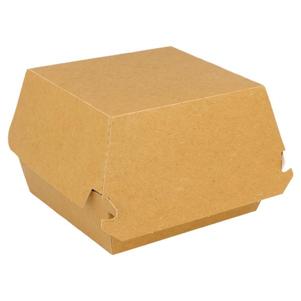 scatole hamb. jumbo 300 g/m2 14x12,5x8 cm marrone cartone (50 unitÀ)