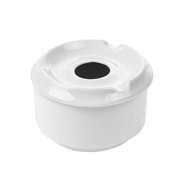 cendriers À eau Ø 8,7x6 cm blanc porcelaine (6 unitÉ)