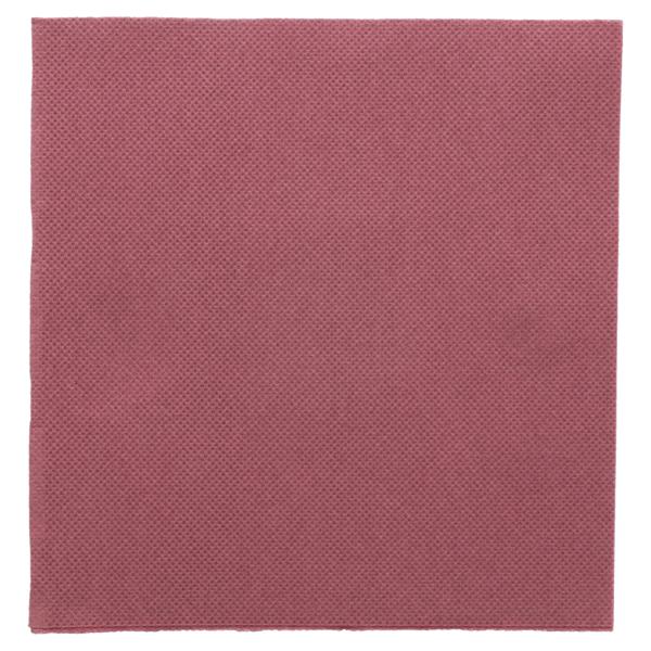 servilletas ecolabel 'double point' 18 g/m2 33x33 cm ciruela tissue (1200 unid.)