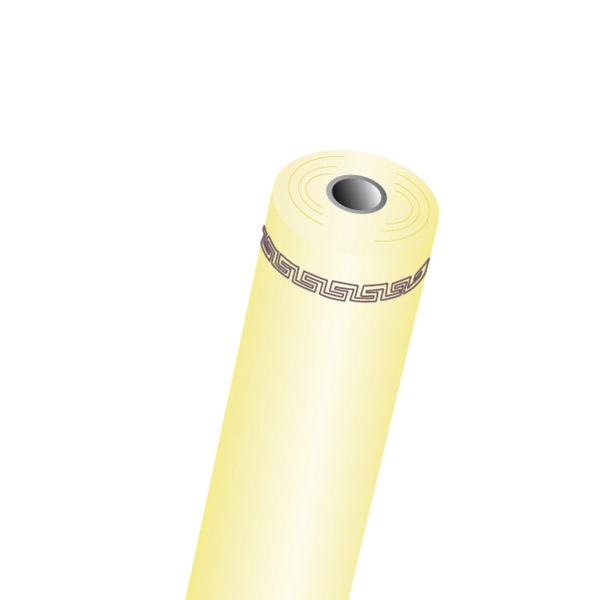 mantel en rollo 60 g/m2 1,18x40 m amarillo intenso airlaid (1 unid.)