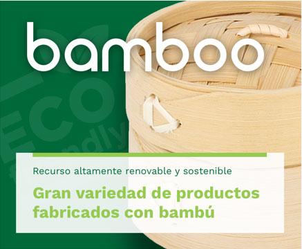 Productos fabricados en bamboo