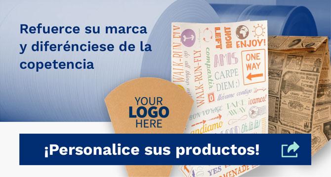Personaliza los productos