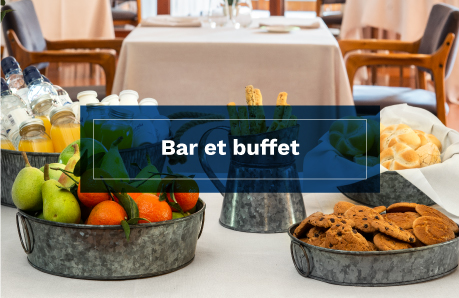 Bar et buffet