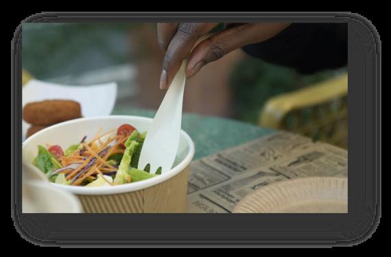 Paper cutlery